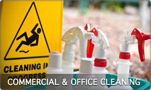 Comercial and office cleaning